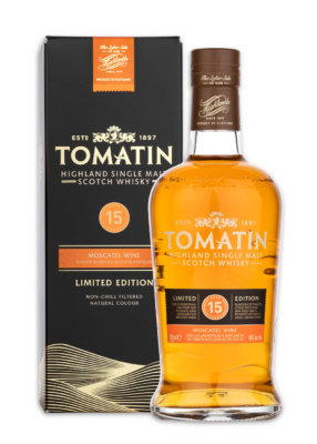 Launch des Tomatin 15 Jahre Moscatel Wine