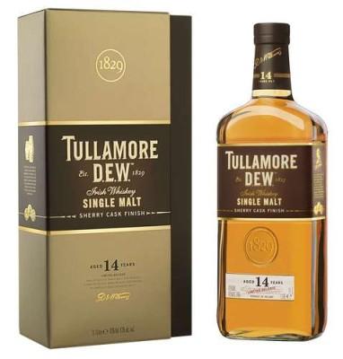Tullamore Dew 14 Jahre mit Sherry Cask Finish für Travel-Retail-Sektor