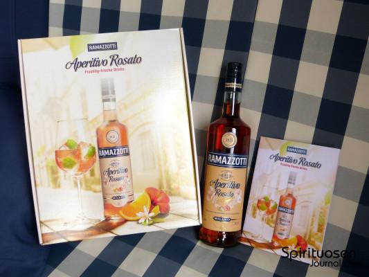 Wir verlosen eine Flasche des Ramazzotti Aperitivo Rosato