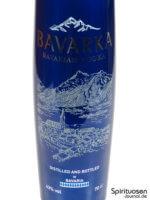 Bavarka Bavarian Vodka Vorderseite Etikett