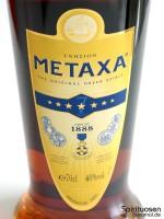 Metaxa 7 Sterne Vorderseite Etikett