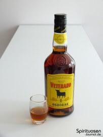 Osborne Veterano Glas und Flasche