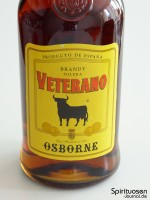 Osborne Veterano Vorderseite Etikett