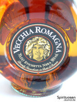 Vecchia Romagna Etichetta Nera Vorderseite Etikett