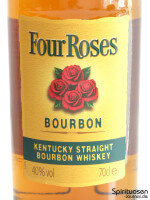 Four Roses Yellow Label Vorderseite Etikett