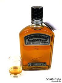 Gentleman Jack Glas und Flasche