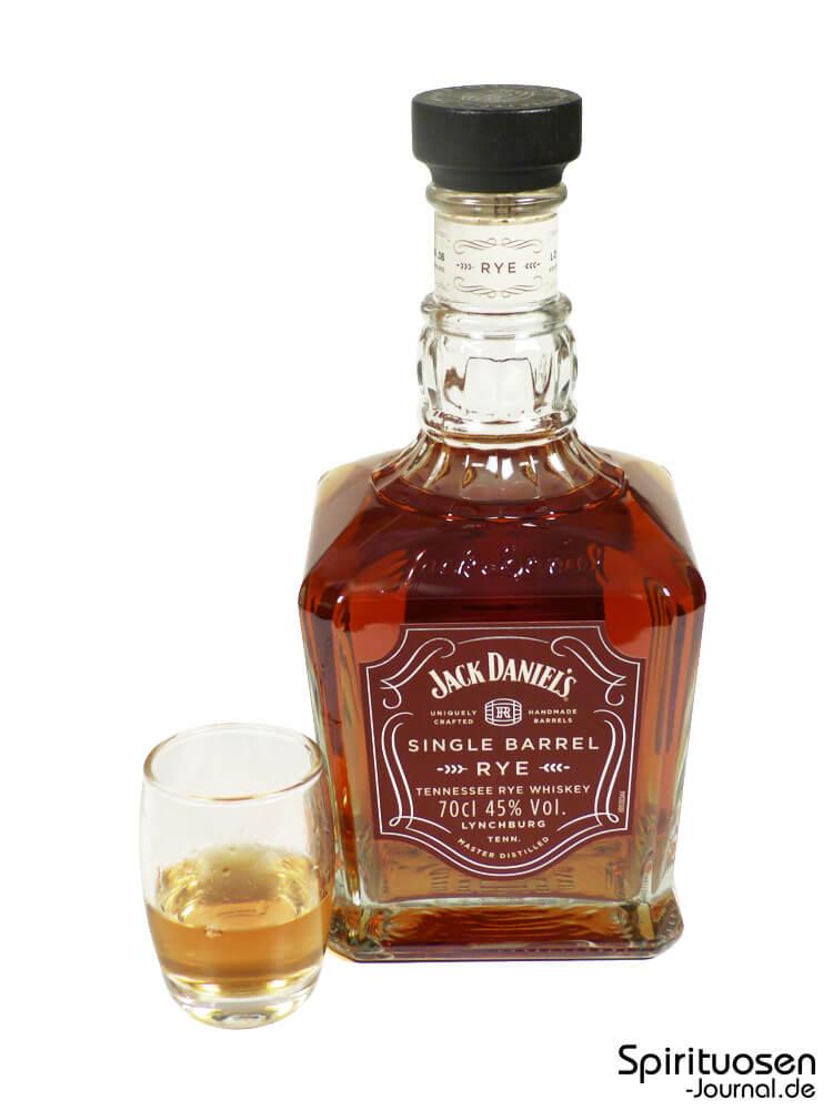 Test: Jack Daniel\'s Single Barrel Rye – Spirituosen-Journal.de