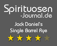 Jack Daniel's Single Barrel Rye Wertung
