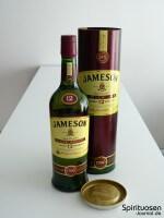 Jameson 12 Jahre Special Reserve Verpackung und Flasche