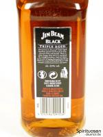 Jim Beam Black Rückseite Etikett