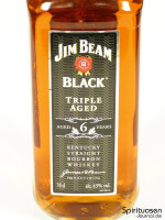 Jim Beam Black Vorderseite Etikett