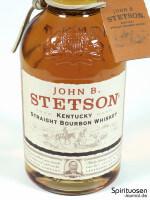 John B. Stetson Vorderseite Etikett