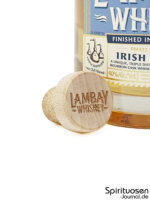 Lambay Blended Irish Whiskey Verschluss