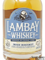 Lambay Blended Irish Whiskey Vorderseite Etikett