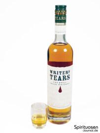 Writers' Tears Copper Pot Glas und Flasche