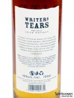 Writers' Tears Copper Pot Rückseite Etikett