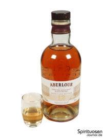 Aberlour 12 Jahre Double Cask Glas und Flasche