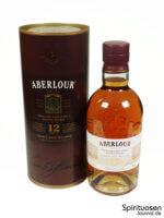 Aberlour 12 Jahre Double Cask Verpackung und Flasche