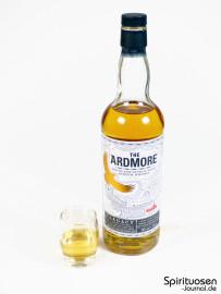 Ardmore Legacy Glas und Flasche