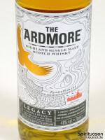 Ardmore Legacy Vorderseite Etikett