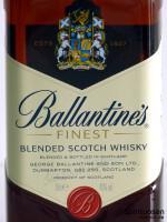 Ballantine's Finest Vorderseite Etikett