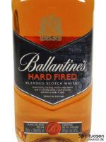 Ballantine's Hard Fired Vorderseite Etikett