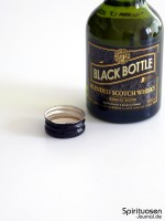 Black Bottle Verschluss