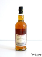 Blackstone Single Highland Malt Scotch Whisky 18 Jahre Rückseite