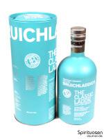 Bruichladdich Scottish Barley 'The Classic Laddie' Verpackung und Flasche