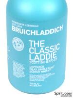 Bruichladdich Scottish Barley 'The Classic Laddie' Vorderseite Etikett