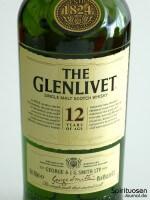 The Glenlivet 12 Jahre Vorderseite Etikett