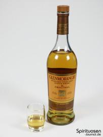 Glenmorangie The Original 10 Jahre Glas und Flasche