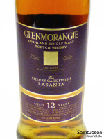 Glenmorangie Lasanta Vorderseite Etikett