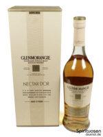 Glenmorangie Nectar d'Or Verpackung und Flasche