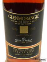 Glenmorangie Quinta Ruban Vorderseite Etikett
