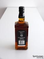 Jack Daniel's Old No.7 Rückseite