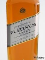 Johnnie Walker Platinum Label 18 Jahre Vorderseite Etikett