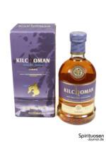 Kilchoman Sanaig Verpackung und Flasche