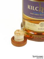 Kilchoman Sanaig Verschluss