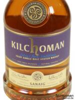 Kilchoman Sanaig Vorderseite Etikett