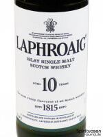 Laphroaig 10 Jahre Vorderseite Etikett