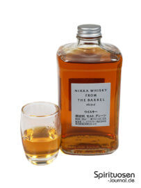 Nikka From the Barrel Glas und Flasche