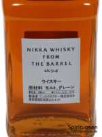 Nikka From the Barrel Vorderseite Etikett