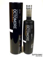 Octomore Scottish Barley Edition 06.1 Verpackung und Flasche