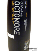 Octomore Scottish Barley Edition 06.1 Vorderseite Etikett