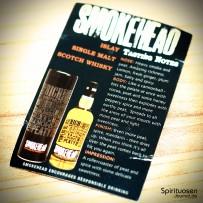 Smokehead Islay Single Malt Infoblatt