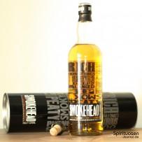 Smokehead Islay Single Malt Verpackung, Verschluss und Flasche