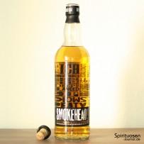 Smokehead Islay Single Malt Verschluss und Flasche