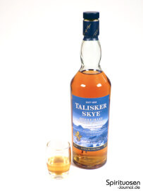 Talisker Skye Glas und Flasche