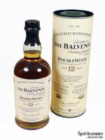 The Balvenie DoubleWood 12 Jahre Verpackung und Flasche